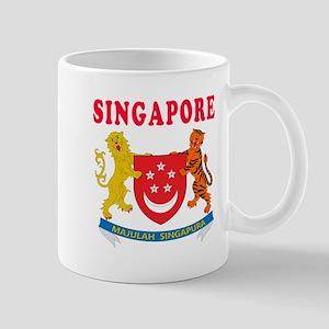 Singapore Coat Of Arms Designs Mug