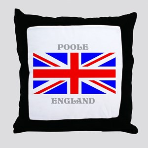 Poole England Throw Pillow