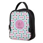 Personalized Monogram Neoprene Lunch Bag