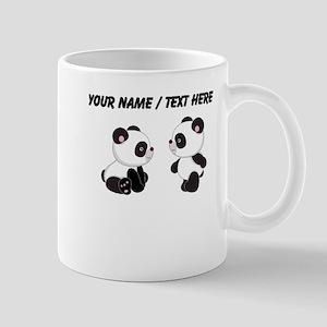 Custom Baby Pandas Mug