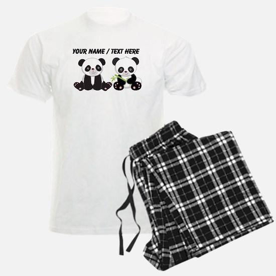 Custom Cute Pandas Pajamas