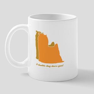 Yorkie Double Dog Mug