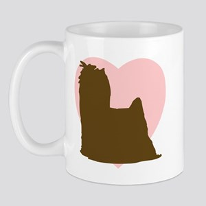Yorkie Heart Mug