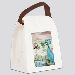 Dont Ever Give Up! Canvas Lunch Bag