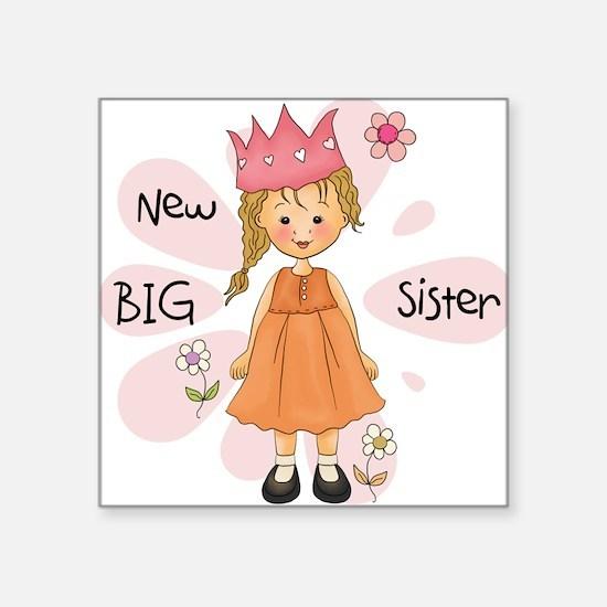 Blond Princess Big Sister Sticker