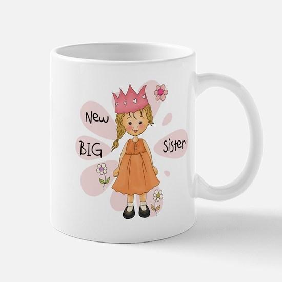 Blond Princess Big Sister Mug