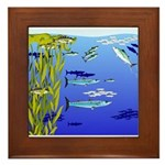 Kelp Edge Action ps Framed Tile