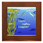 Kelp Edge Action ps Framed Tile