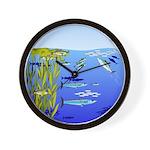 Kelp Edge Action ps Wall Clock