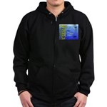 Kelp Edge Action ps Zip Hoodie