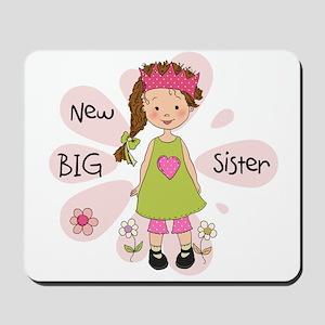 Brown Hair Princess Big Sister Mousepad