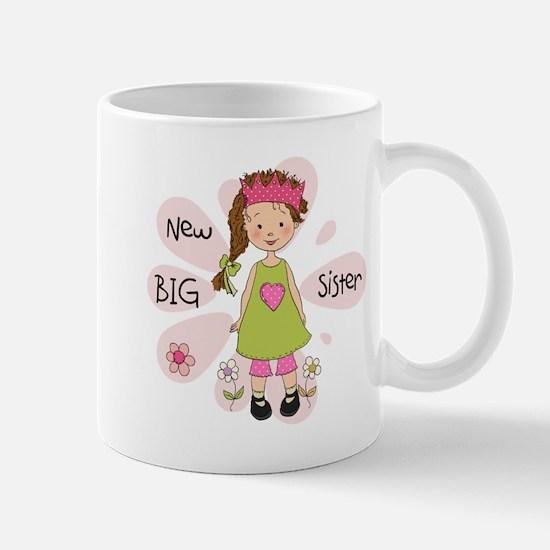 Brown Hair Princess Big Sister Mug
