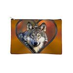 Wolf Heart Makeup Pouch