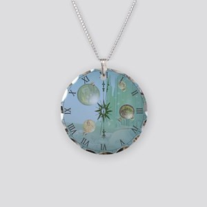 Eternal Oz Necklace Circle Charm