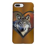 Wolf Heart iPhone 7 Plus Tough Case