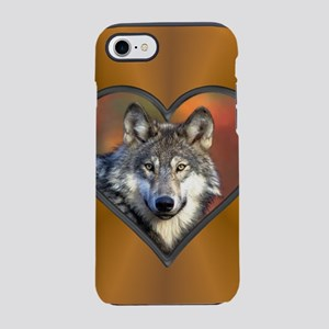 Wolf Heart iPhone 7 Tough Case