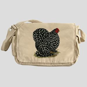 Cochin Black Mottled Hen Messenger Bag