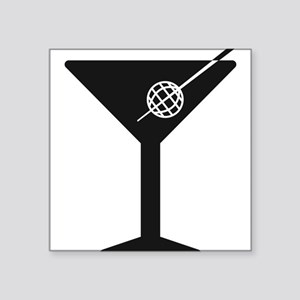 Drunken Geographer Logo DARK Sticker