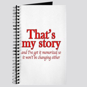 That's my story... Journal