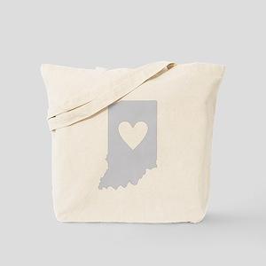 Heart Indiana Tote Bag