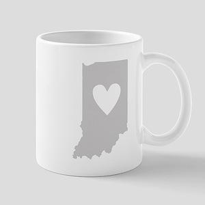 Heart Indiana Mug