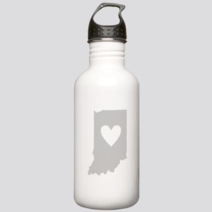 Heart Indiana Stainless Water Bottle 1.0L