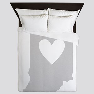 Heart Indiana Queen Duvet