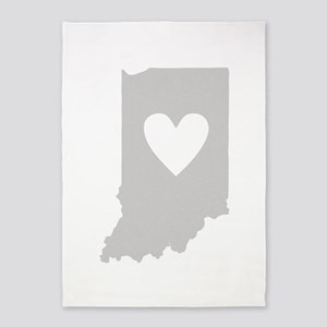Heart Indiana 5'x7'Area Rug