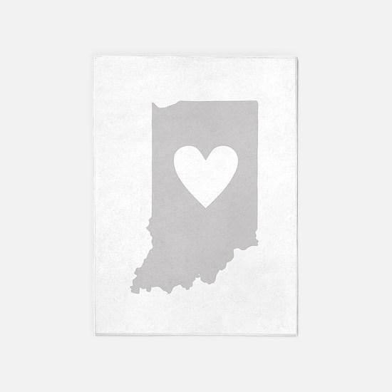 Heart Indiana 5'x7'Area Rug