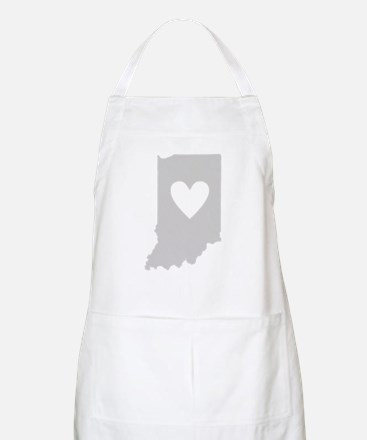 Heart Indiana Apron
