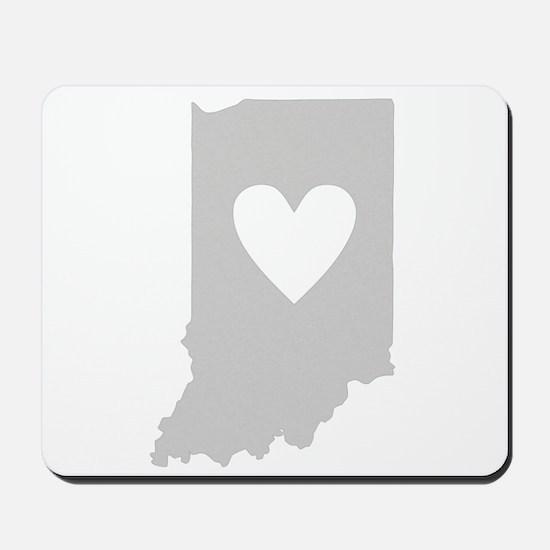 Heart Indiana Mousepad