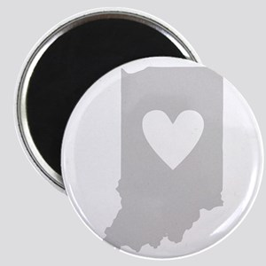 Heart Indiana Magnet