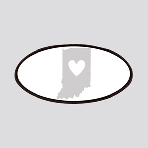 Heart Indiana Patches