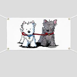 Terrier Walking Buddies Banner
