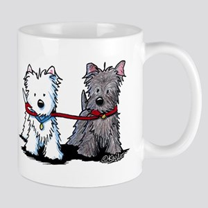 Terrier Walking Buddies Mug