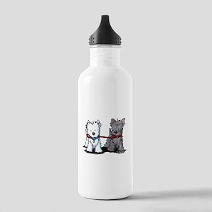 Terrier Walking Buddies Stainless Water Bottle 1.0