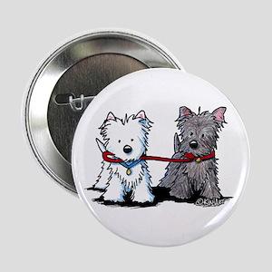 """Terrier Walking Buddies 2.25"""" Button"""