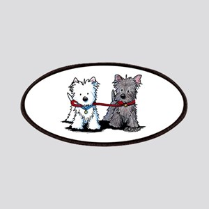 Terrier Walking Buddies Patches