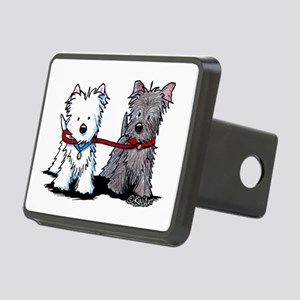 Terrier Walking Buddies Rectangular Hitch Cover