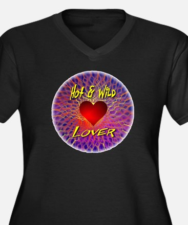 Hot and Wild Lover Plus Size T-Shirt