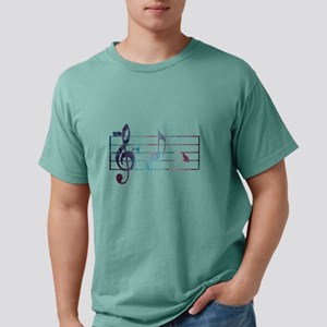 Musical Note 'A' - with Mens Comfort Colors Shirt