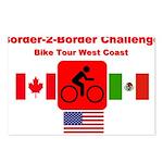 Border-2-Border Challenge Postcards (Package of 8)