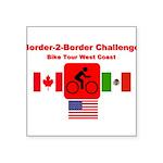 Border-2-Border Challenge Sticker