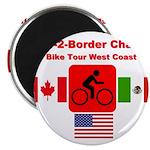 Border-2-Border Challenge Magnet
