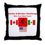 Border-2-Border Challenge Throw Pillow