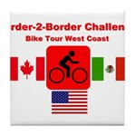 Border-2-Border Challenge Tile Coaster