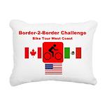 Border-2-Border Challenge Rectangular Canvas Pillo
