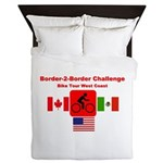Border-2-Border Challenge Queen Duvet