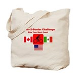 Border-2-Border Challenge Tote Bag