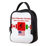 Border-2-Border Challenge Neoprene Lunch Bag